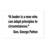 Patton Leader Quote Postcards (Package of 8)