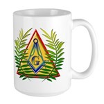 Masonic Acacia & Pyramid Large Mug
