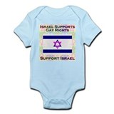 Gay Israel Infant Bodysuit