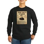Black Bart Long Sleeve Dark T-Shirt