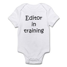 Editor in training Infant Bodysuit