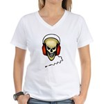 hard rock Women's V-Neck T-Shirt