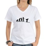 Ski Evolution Women's V-Neck T-Shirt