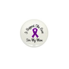 AD Cure Mom Mini Button (10 pack)