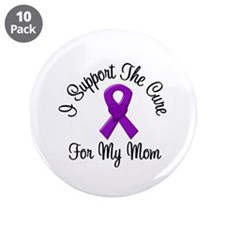 "AD Cure Mom 3.5"" Button (10 pack)"