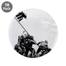 "Iwo Jima 3.5"" Button (10 pack)"