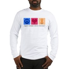 Peace Love Cure MS Long Sleeve T-Shirt