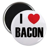 I Heart Bacon Magnet