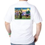 Saint Francis & Airedale Golf Shirt