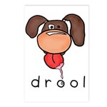 drool Postcards (Package of 8)