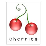 cherries Small Poster