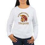 Forks High Trojans Women's Long Sleeve T-Shirt