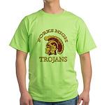 Forks High Trojans Green T-Shirt