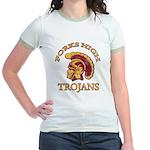 Forks High Trojans Jr. Ringer T-Shirt