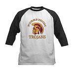 Forks High Trojans Kids Baseball Jersey