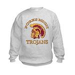 Forks High Trojans Kids Sweatshirt
