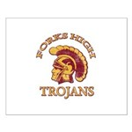 Forks High Trojans Small Poster