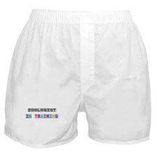 Zoologist In Training Boxer Shorts