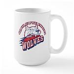 Quileute High Wolves Large Mug