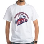 Quileute High Wolves White T-Shirt