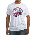 Quileute High Wolves Fitted T-Shirt