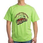 Quileute High Wolves Green T-Shirt