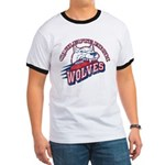 Quileute High Wolves Ringer T