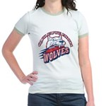 Quileute High Wolves Jr. Ringer T-Shirt