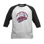 Quileute High Wolves Kids Baseball Jersey