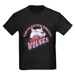 Quileute High Wolves Kids Dark T-Shirt