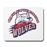 Quileute High Wolves Mousepad