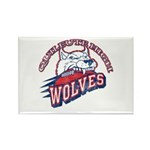 Quileute High Wolves Rectangle Magnet (100 pack)