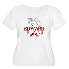Team Edward Women's Plus Size Scoop Neck T-Shirt