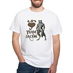Team Jacob White T-Shirt