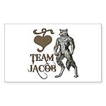 Team Jacob Rectangle Sticker 10 pk)