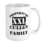 Property Of Cullen Family Large Mug