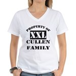 Property Of Cullen Family Women's V-Neck T-Shirt