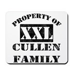 Property Of Cullen Family Mousepad