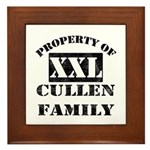 Property Of Cullen Family Framed Tile