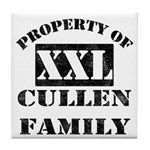 Property Of Cullen Family Tile Coaster