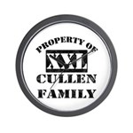 Property Of Cullen Family Wall Clock