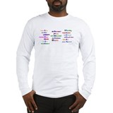 Liberal Moral Values Long Sleeve T-Shirt