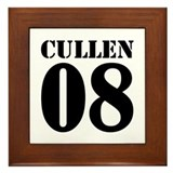 Team Cullen Jersey Framed Tile