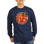 Int'l Member Of The B.O.I. - Long Sleeve Navy T-Sh