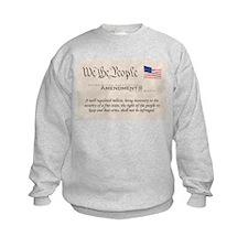 Amendment II w/Flag Sweatshirt