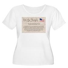 Amendment VI w/Flag T-Shirt