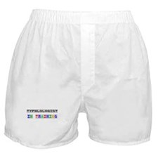 Typhlologist In Training Boxer Shorts