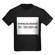Typhlologist In Training Kids Dark T-Shirt