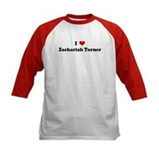 I Love Zachariah Turner Tee
