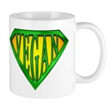 SuperVegan(Green)  Tasse